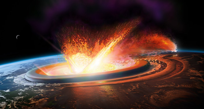 Chicxulub-Meteor-Strike